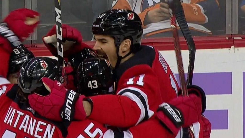 Brian Boyle scores on Devils  Hockey Fights Cancer Night - Sportsnet.ca 3f005bff1