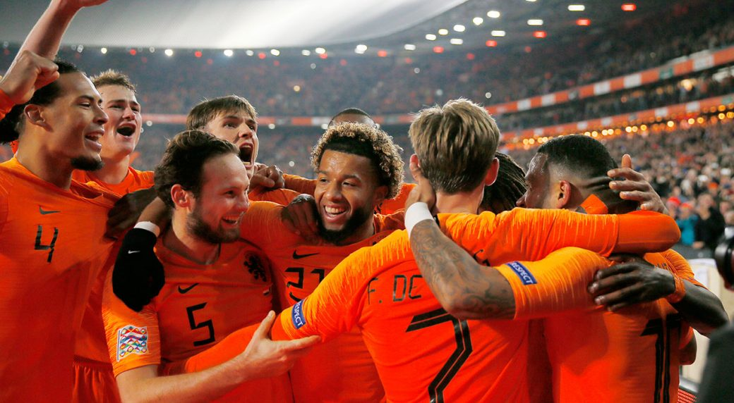 Image result for uefa nations league netherlands
