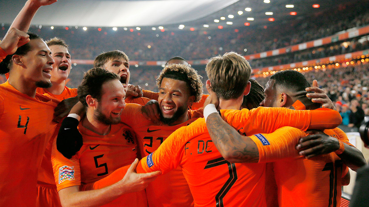 Dutch beat France, Germany relegated in UEFA Nations League