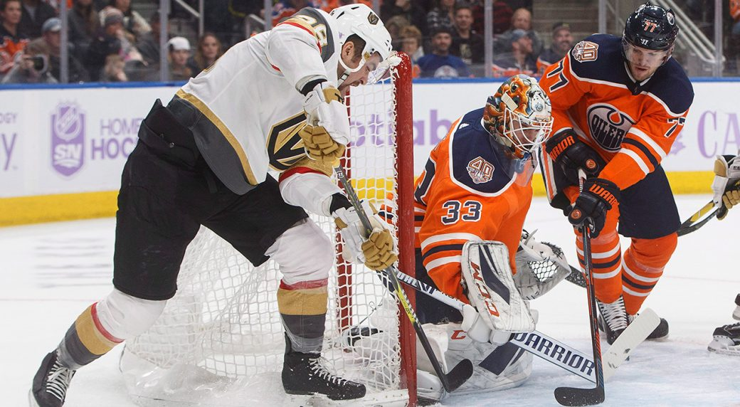 Edmonton Oilers lose 6-3 to Vegas Golden Knights