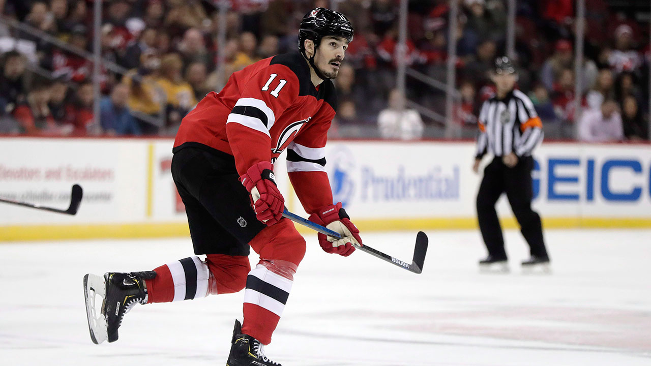1b4d7d4525a Devils place Brian Boyle on injured reserve with upper-body injury -  Sportsnet.ca