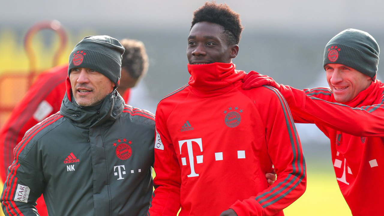 21e41710b0a Report: Alphonso Davies dropped from Bayern Munich first team - Sportsnet.ca