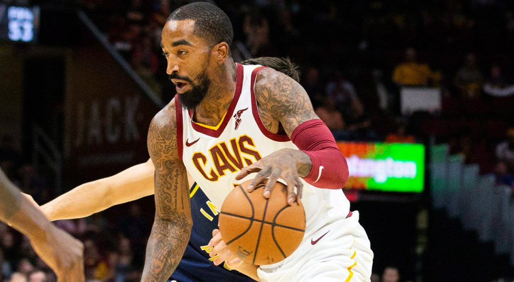 The Cleveland Cavaliers have parted ways with guard J.R. Smith. (Scott R.  Galvin AP) d570be679