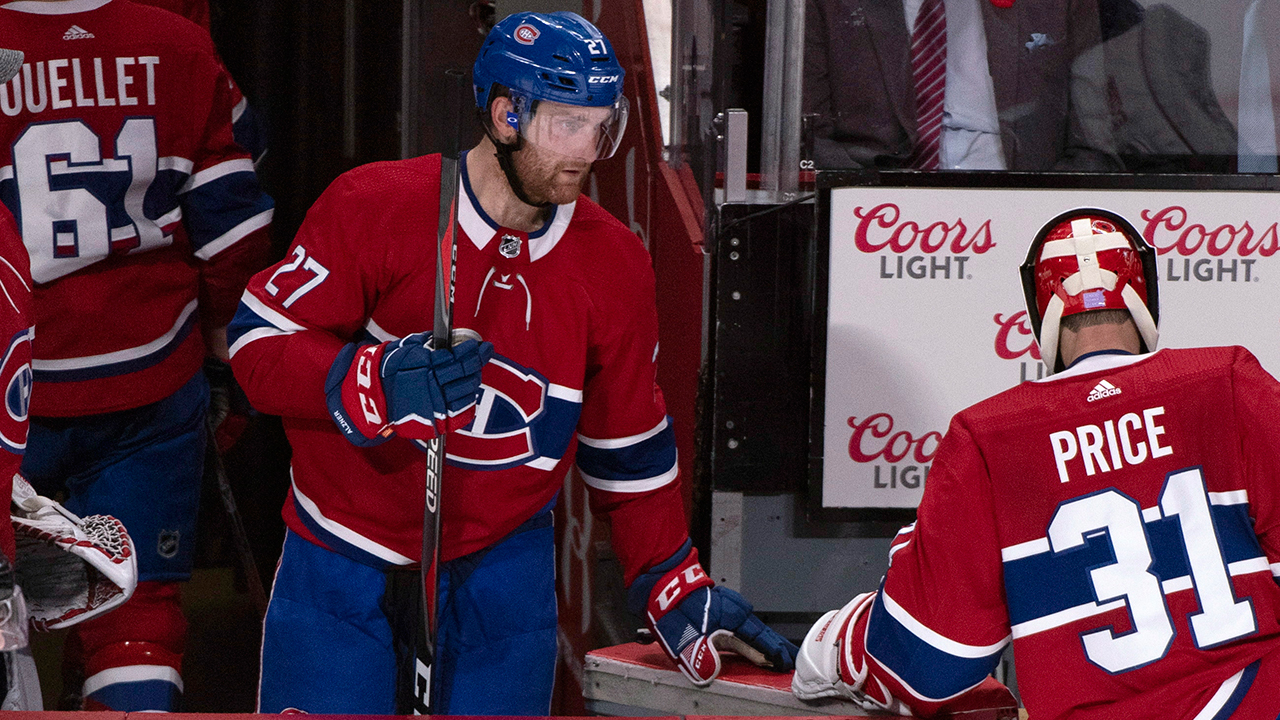 Canadiens defenceman Karl Alzner clears waivers