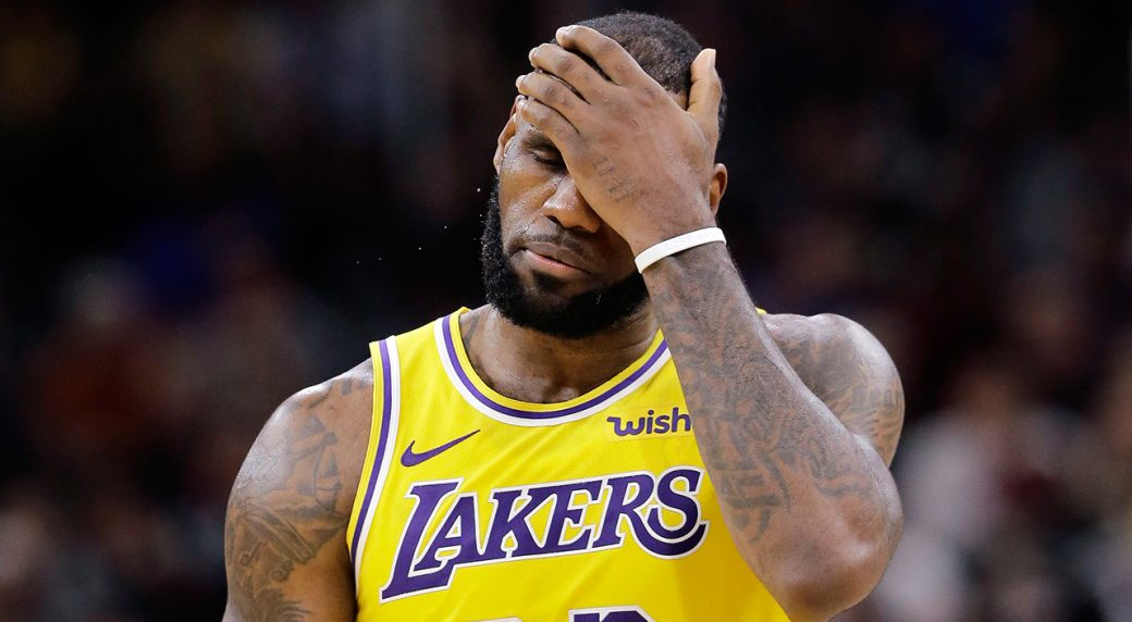 afe917422132 LeBron James still figuring out scope of challenges with Lakers ...