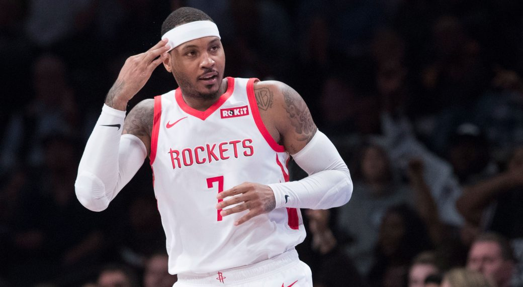 02a004a0608 Carmelo Anthony has been dealt from the Houston Rockets to the Chicago  Bulls. (Mary Altaffer AP)