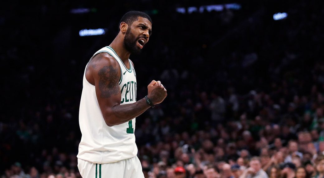 super popular 3d4b3 f3800 Kyrie Irving s 17 points lead Celtics in rout of Bulls