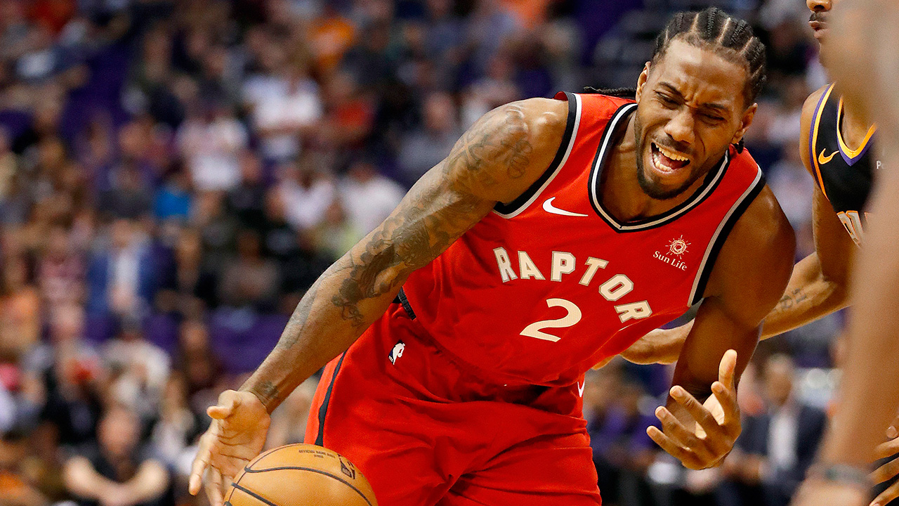ab38ee4a6da Raptors  Kawhi Leonard ruled out vs. Lakers with left foot soreness ...