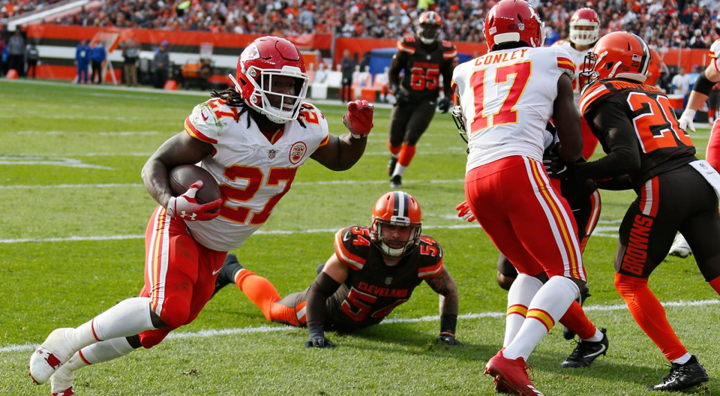 fe6f4af755d Chiefs release running back Kareem Hunt after video leak. Kansas City ...