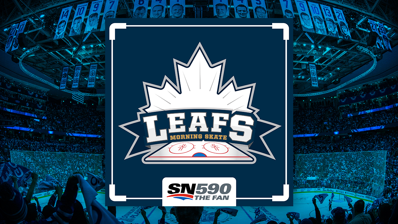 Leafs Morning Skate Logo Image