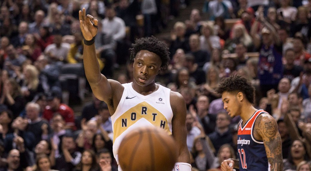 Raptors' Anunoby to play Rising Stars Game