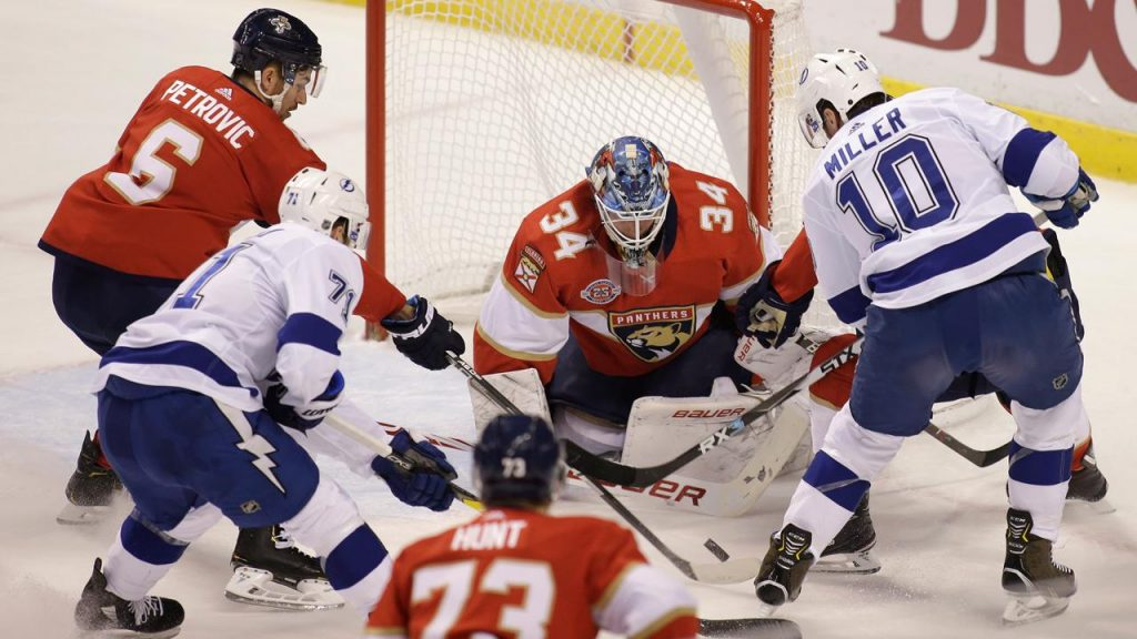 ec5f4925 Point leads Lightning past Panthers in overtime - Sportsnet.ca