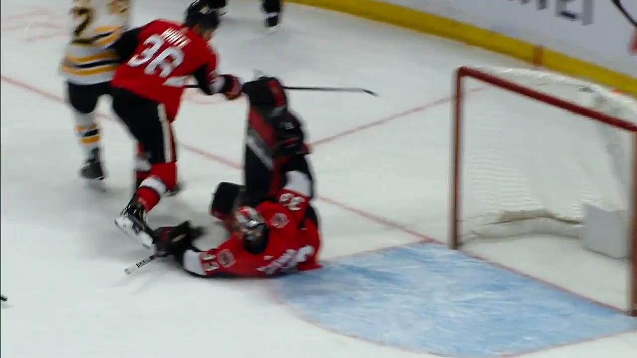 Mike McKenna makes a superb stop in OT for Play of The Night