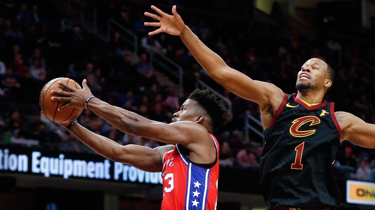 76ers cruise by Cavaliers in Butler's return