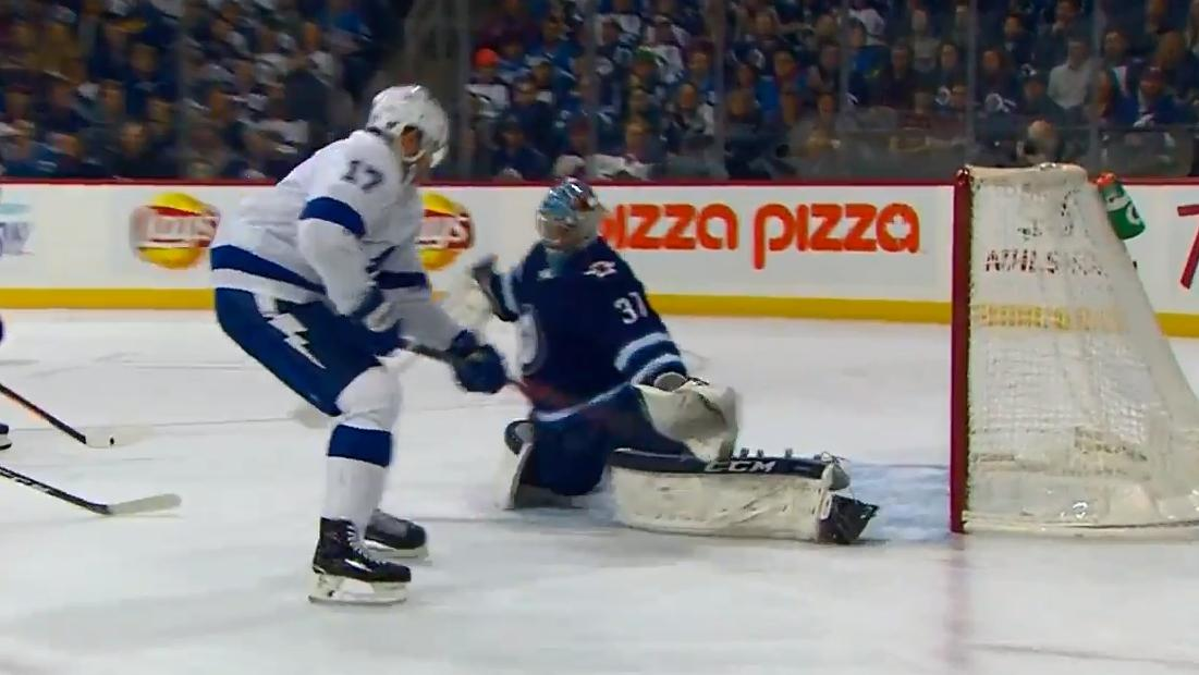 Alex Killorn shows off soft hands with sweet backhand goal
