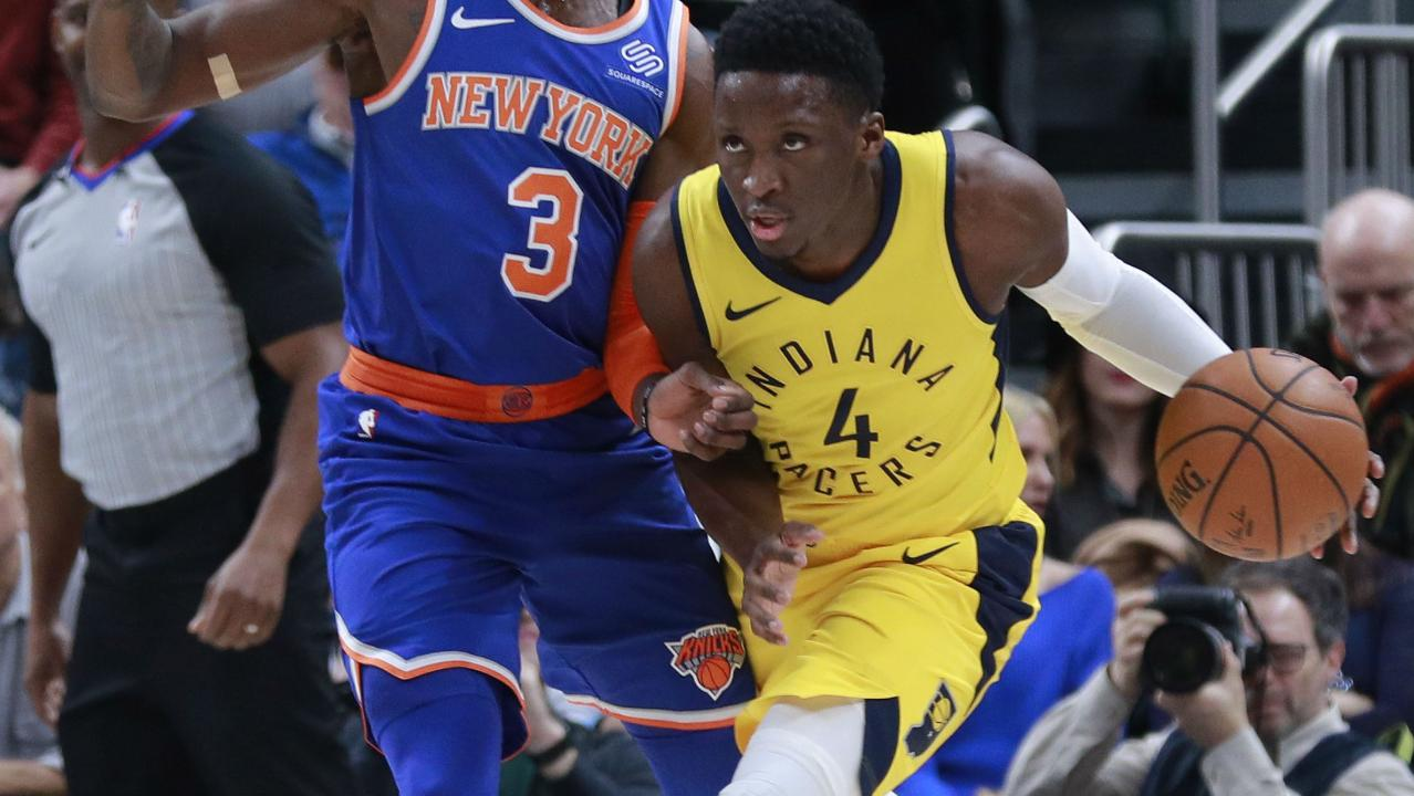 Victor Oladipo and Myles Turner power Pacers past Knicks