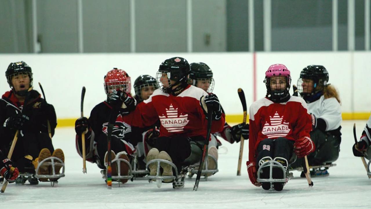 Dr. Oetker Giueseppe Pizzeria My Hometown: Women's Para Ice Hockey