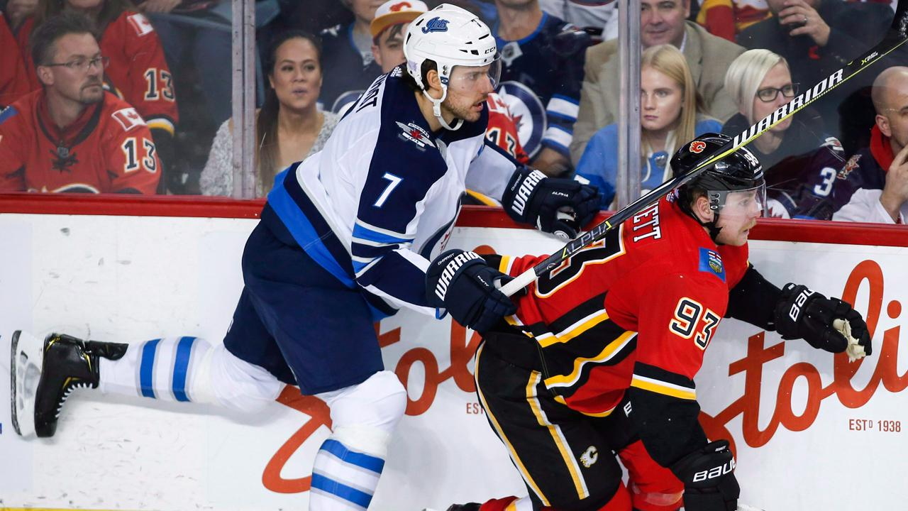 Pang respects Flames but thinks Jets rule the West
