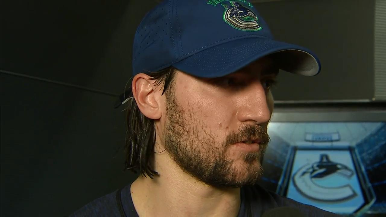 Tanev calls Martel's hit on Stecher a dirty play