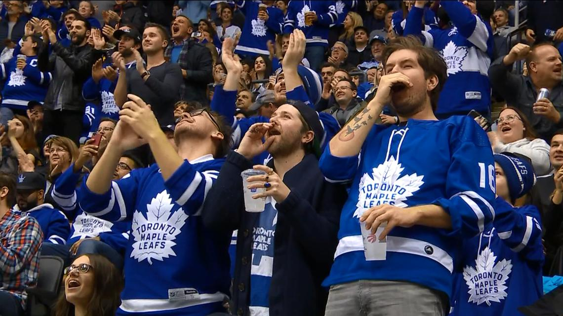 Stand And Deliver. Leafs' Fans Give James Reimer A Standing O