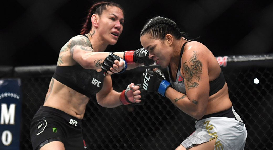 nunes knocks out cyborg jones wins light heavyweight belt at ufc