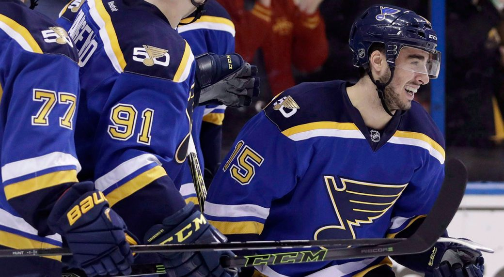 145d05de997 St. Louis Blues activate forward Robby Fabbri from injured reserve ...
