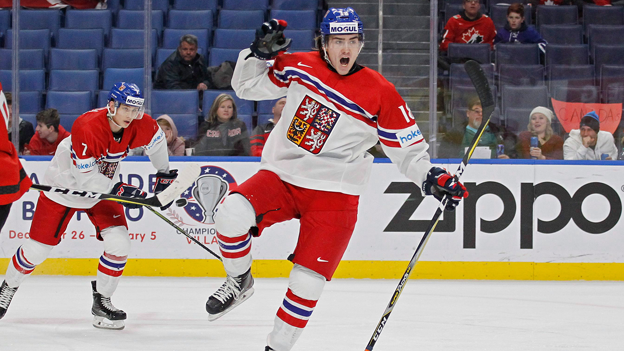 Red Wings' Filip Zadina to play for Czech Republic at world juniors