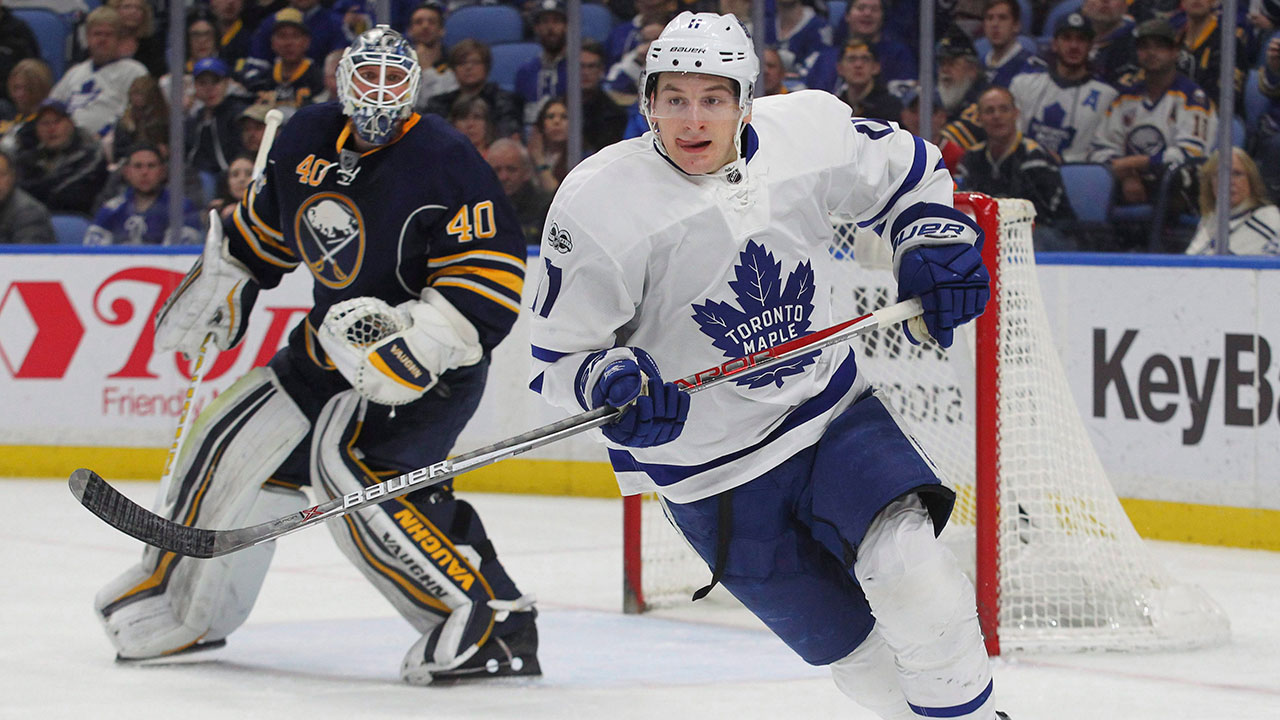 Q&A: Maple Leafs' Zach Hyman on confidence, hazing and esports