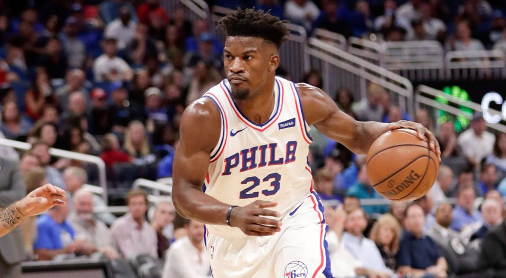 073a2f84c6a Report  76ers  Jimmy Butler could return from wrist injury vs. Lakers