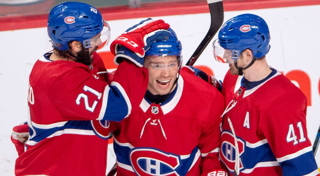 e4b02c062 Montreal Canadiens first half report  An unexpected playoff push ...