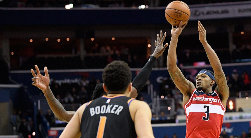 Bradley Beal's triple-double leads Wizards to 3OT win vs Suns