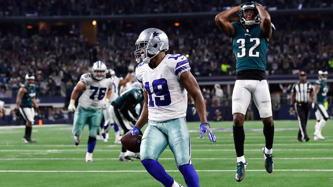 Cowboys' Prescott, Cooper connect on 3 TDs in OT win over Eagles