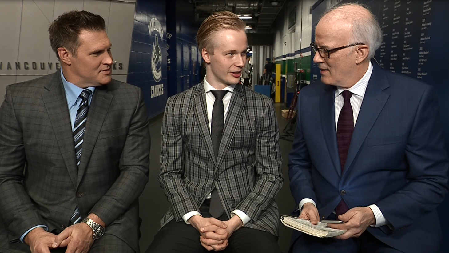 Surfin' With The Alien. Elias Pettersson On After Hours.