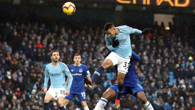 Soccer-EPL-Manchester-City-Jesus-heads-ball-in
