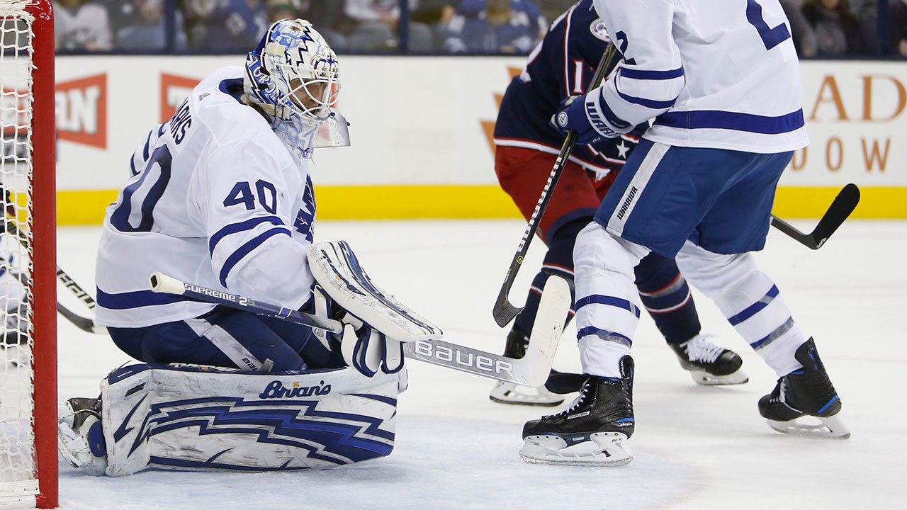 Sparks  strong outing helping Leafs push ahead with goaltending plans 974444829