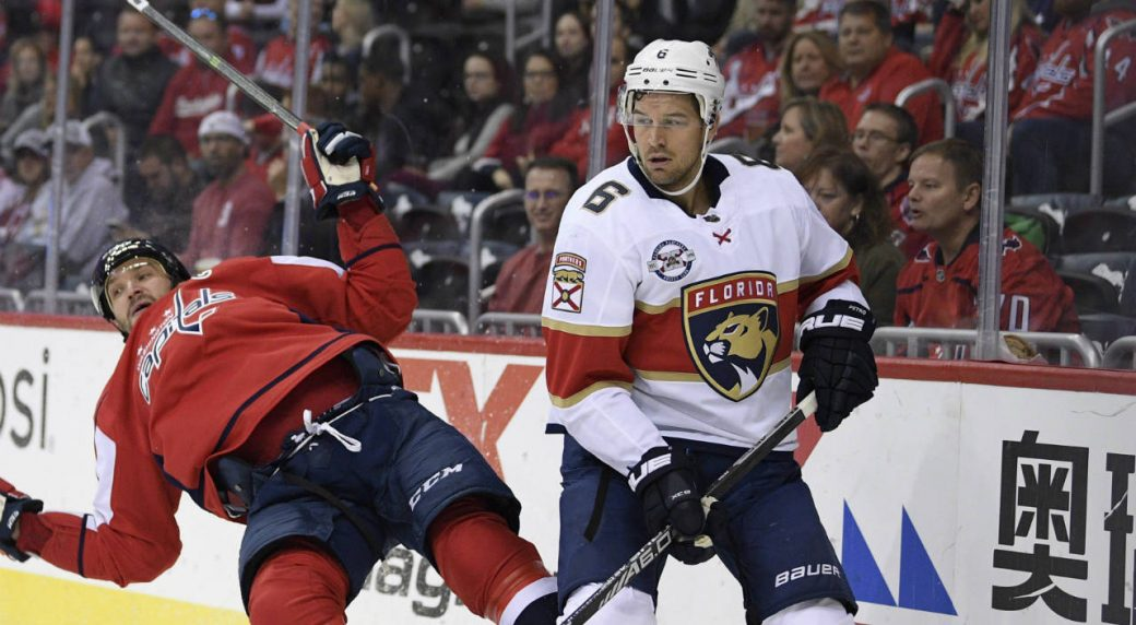 Oilers acquire Alex Petrovic from Panthers for Chris Wideman b3bf3588f
