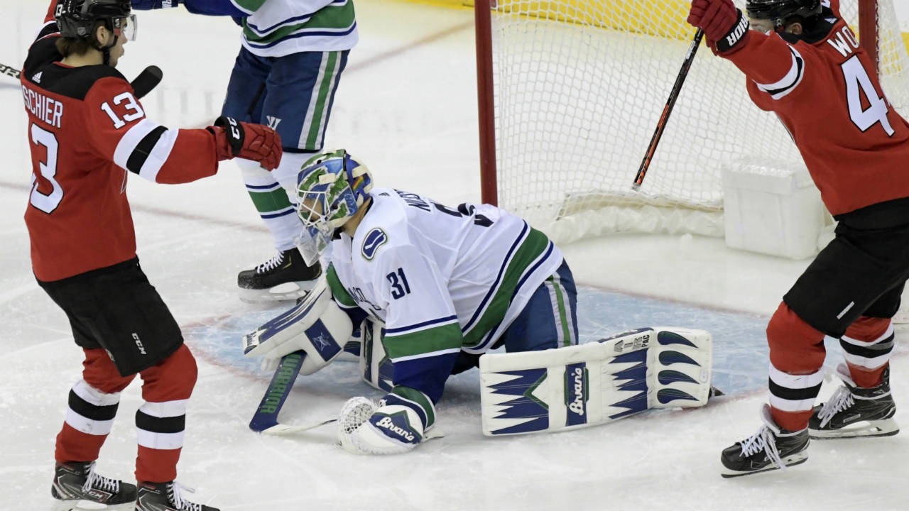 d91e76a55 Takeaways  Is it time for Canucks to call up Thatcher Demko  - Sportsnet.ca