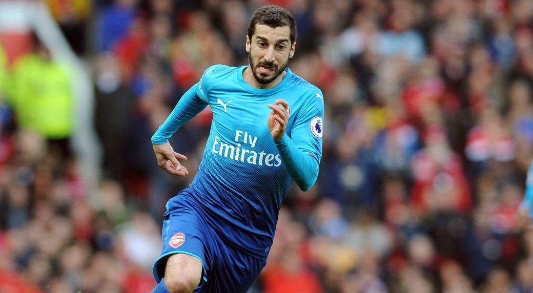 bfa59989c3d Arsenal to leave Henrikh Mkhitaryan at home for Europa League final ...