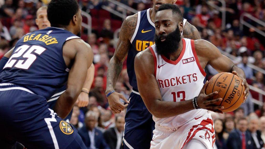 96e41d0c816 Harden   Capela help Rockets beat Nuggets - Sportsnet.ca