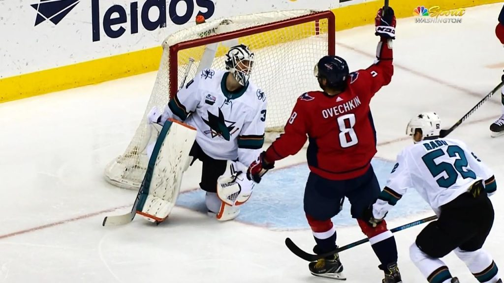 fd953b2be19 Capitals  Alex Ovechkin records hat trick against Sharks - Sportsnet.ca
