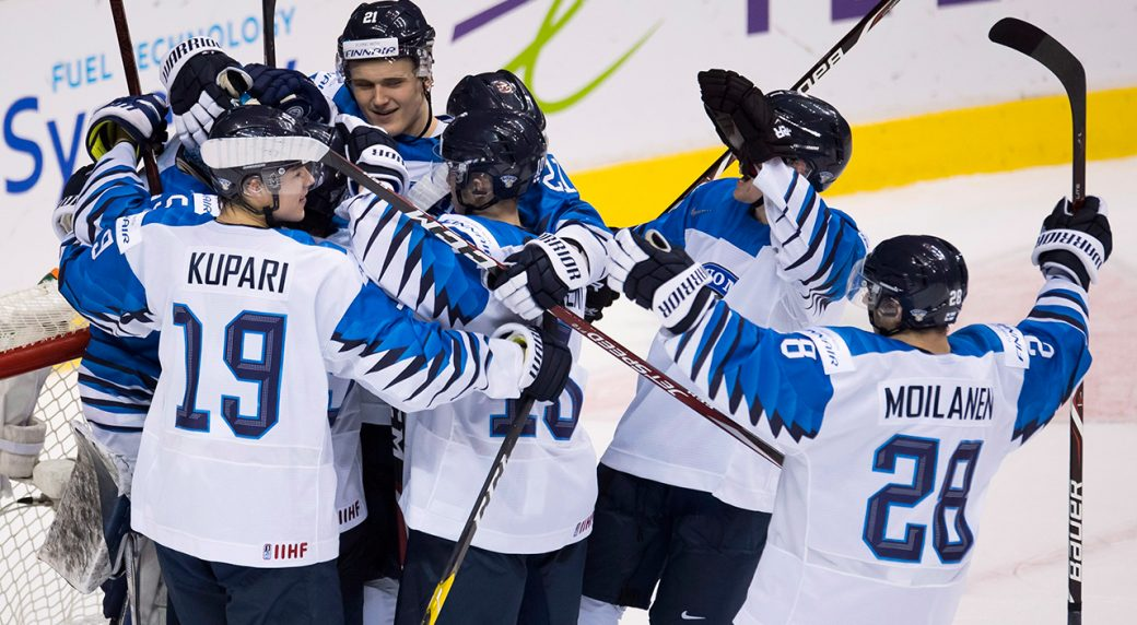 Finland wins world juniors gold with dramatic 3-2 win over US