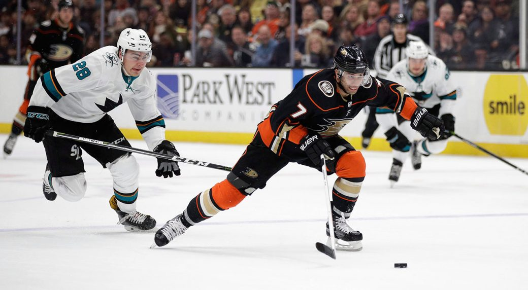 eacf31b8a The Anaheim Ducks have traded winger Andrew Cogliano to the Dallas Stars.  (Jae C. Hong AP)