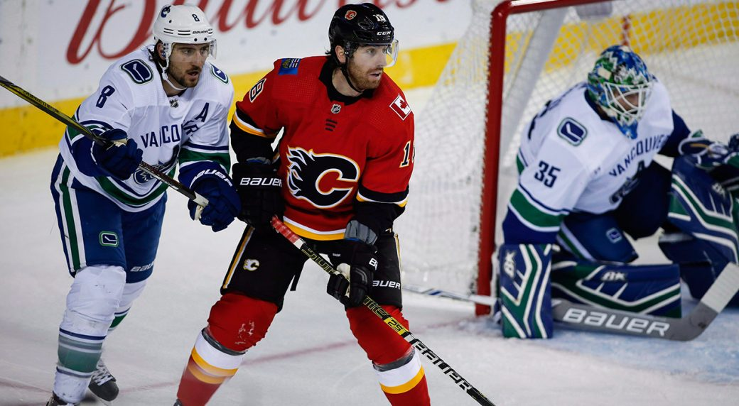 dd6b305fd Flames  James Neal returns to lineup vs. Canucks - Sportsnet.ca