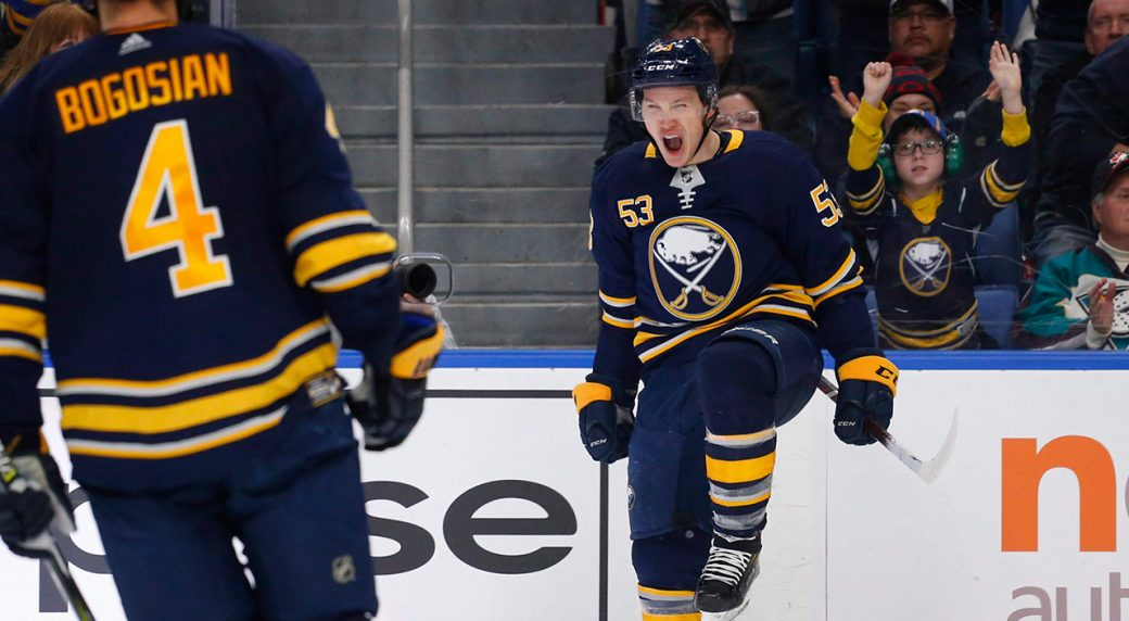 Sabres' Skinner tells AP he welcomes higher expectations