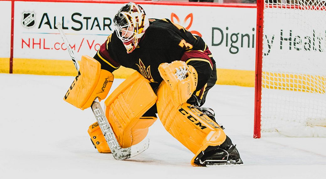 8e5ee86d61a Dream come true   Senators  Daccord realizes goal of reaching NHL ...