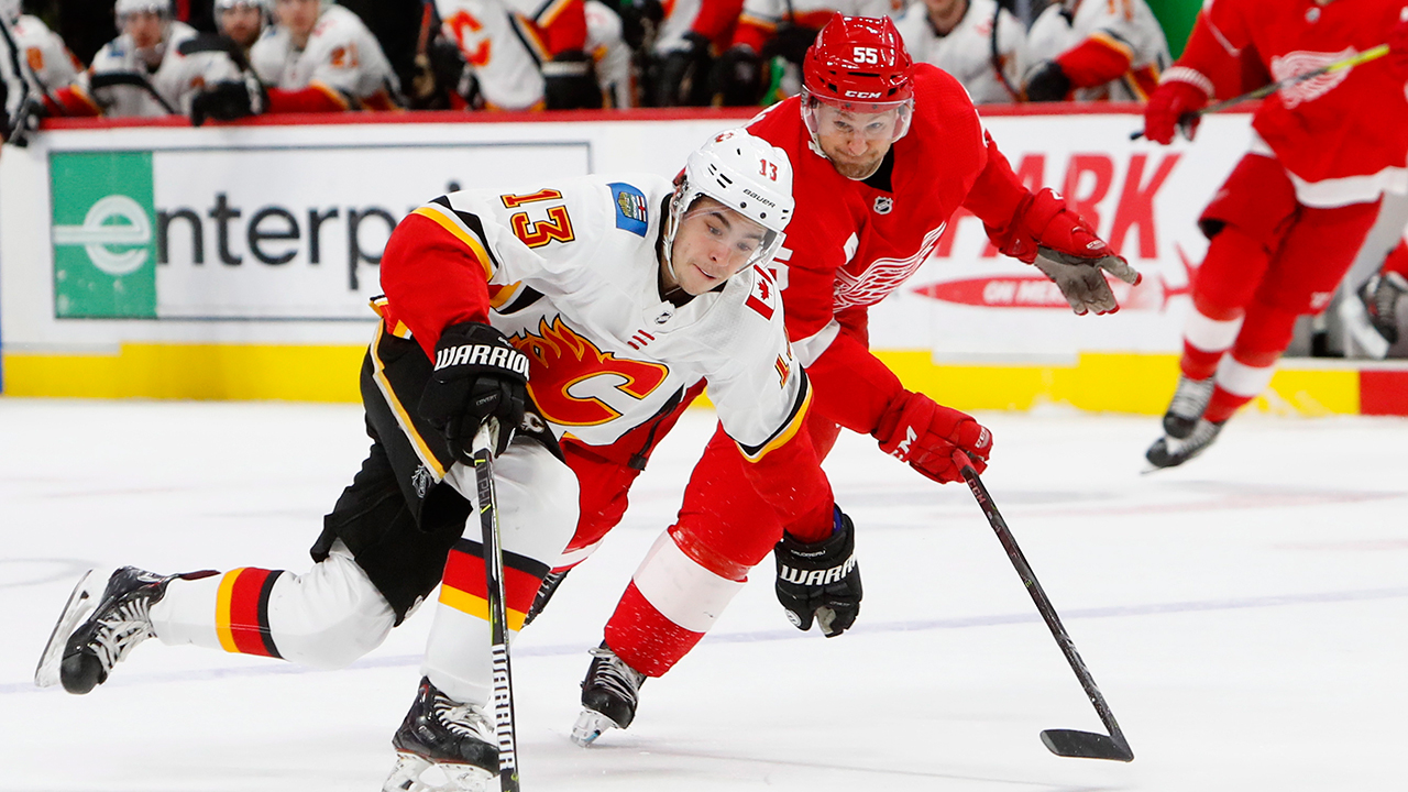 Wingin' It. Johnny Hockey Flying High In Detroit