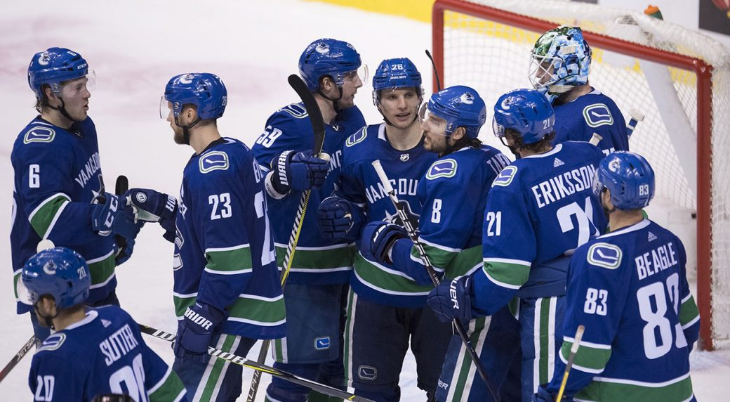 349f42b9075 Canucks leaning on strong camaraderie for intense playoff push ...