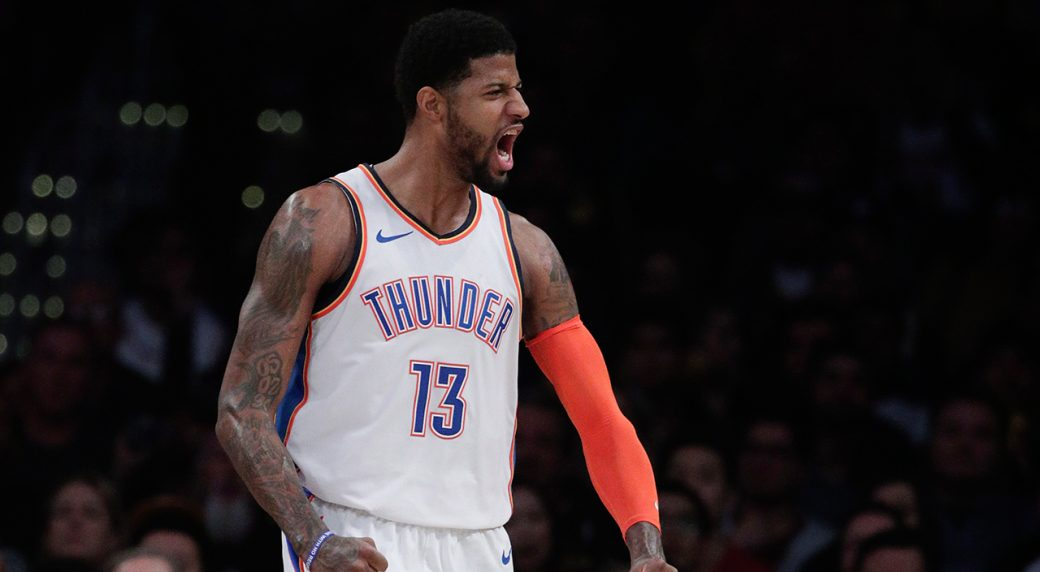 66ee894abf78 Lakers fans boo Paul George as Thunder win in L.A. - Sportsnet.ca