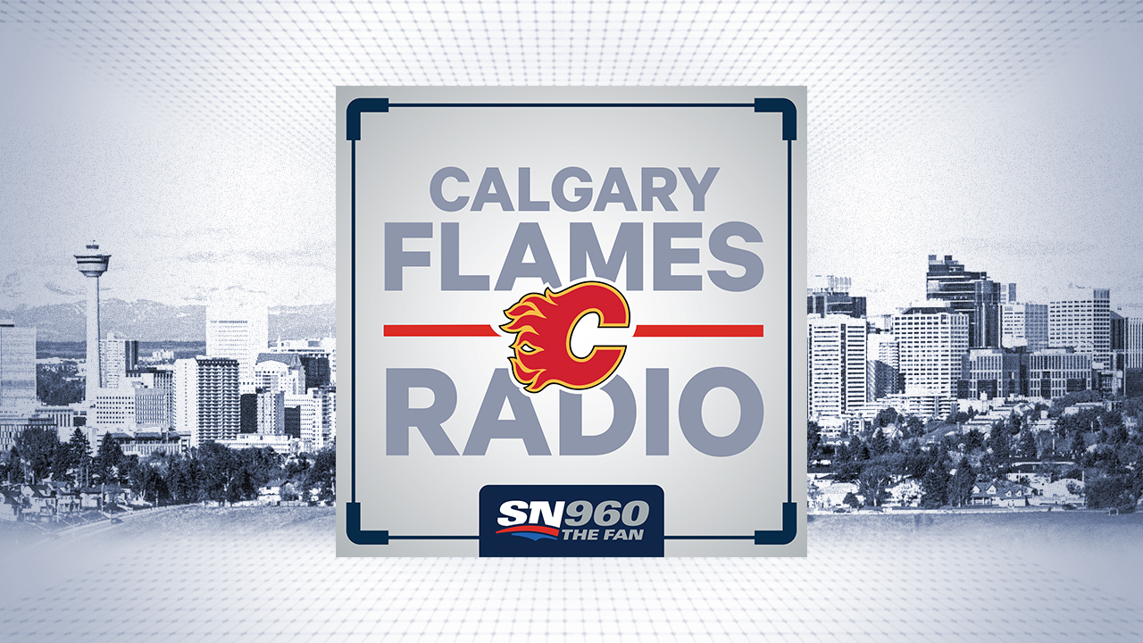 Calgary Flames Radio Logo Image