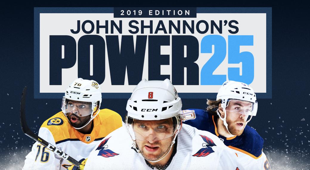7b209b9cc7b John Shannon s Top 25 NHL Power Brokers 2019 - Sportsnet.ca